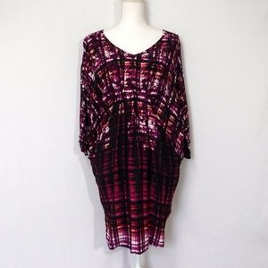 Maeve Petal Palate Ikat Tunic Dress Size Small